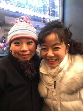 Yuka Takara and Miho Imoto. Photo by Lia Chang
