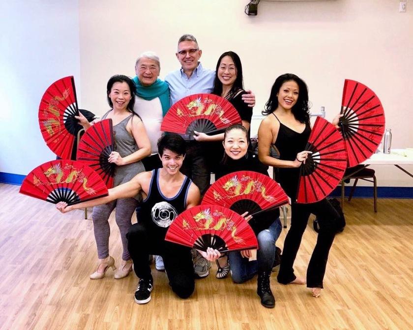 Telly Leung, Lainie Sakakura, Yuka Takara, Alvin Ing, Robert Longbottom, Sally Hong and J. Elaine Marcos.
