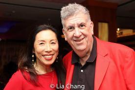 Jodi Long and Elliott Masie. Photo by Lia Chang