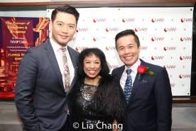 Karl Josef Co, Baayork Lee and Steven Eng. Photo by Lia Chang