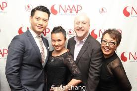 Karl Josef Co, Elena Wang, Matthew Woolf and Nina Zoie Lam. Photo by Lia Chang