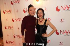 Lainie Sakakura and Lia Chang. Photo by Garth Kravits