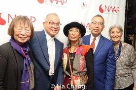 Liliian Ling, Arlan Huang, Nobuko Miyamoto, Rocky Chin and May Chen. Photo by Lia Chang
