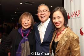 Lillian Ling, Arlan Huang and Lia Chang. Photo by Garth Kravits