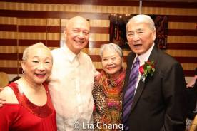 Lori Tan Chinn, Jose, Takayo Fischer and Alvin Ing. Photo by Lia Chang