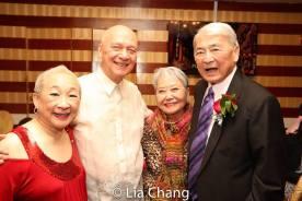 Lori Tan Chinn, Jose, Takayo Fischer and Alvin Ing. Photo by Lia Chang