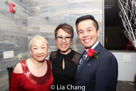 Lori Tan Chinn, Nina Zoie Lam and Steven Eng. Photo by Lia Chang
