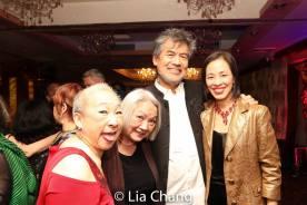Lori Tan Chinn, Virginia Wing, David Henry Hwang and Lia Chang. Photo by Garth Kravits