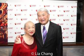 Lori Tan Chinn and Alvin Ing. Photo by Lia Chang
