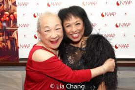 Lori Tan Chinn and Baayork Lee. Photo by Lia Chang