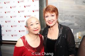 Lori Tan Chinn and Donna McKechnie. Photo by Lia Chang