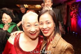Lori Tan Chinn and Lia Chang. Photo by Garth Kravits