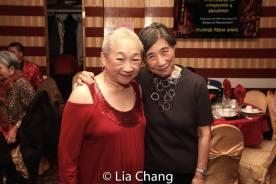 Lori Tan Chinn and Wai-Ching Ho. Photo by Lia Chang