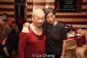 Lori Tan Chinn and Wai-Ching Ho. Photo by Lia Chang