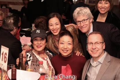 Pat Suzuki, Lia Chang, Lainie Sakakura, Ted Chapin. Photo by Lia Chang