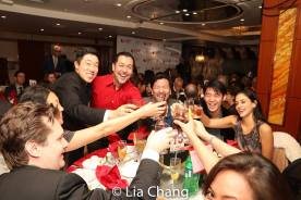 Raymond J. Lee, Alan Ariano, Brian Kim and more. Photo by Lia Chang
