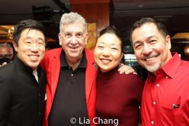 Raymond J. Lee, Elliott Masie, Lainie Sakakura and Alan Ariano. Photo by Lia Chang