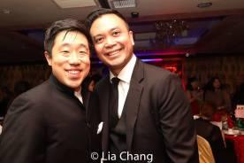Raymond J. Lee and Jose Llana. Photo by Lia Chang