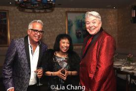 Richard Jay Alexander, Baayork Lee and Richard Skipper. Photo by Lia Chang