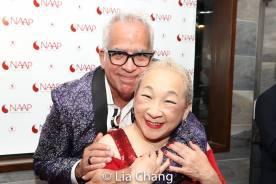 Richard Jay Alexander and Lori Tan Chinn. Photo by Lia Chang