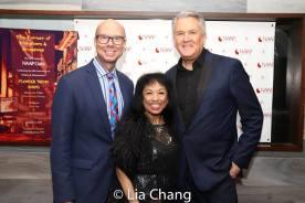 Richie Ridge, Baayork Lee and Richard Hillman. Photo by Lia Chang