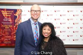 Richie Ridge and Baayork Lee. Photo by Lia Chang