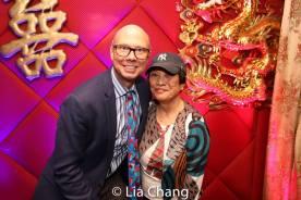Richie Ridge and Pat Suzuki. Photo by Lia Chang