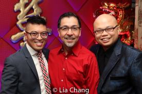 Steven Cuevas, Alan Ariano and Viet Vo. Photo by Lia Chang