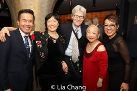 Steven Eng, Tisa Chang, Ted Chapin , Lori Tan Chinn and Nina Zoie Lam. Photo by Lia Chang