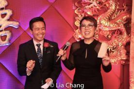 Steven Eng and Nina Zoie Lam. Photo by Lia Chang