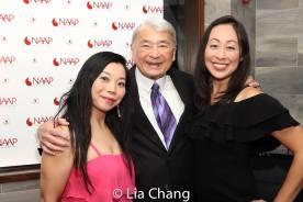 Yuka Takara, Alvin Ing and Sally Hong. Photo by Lia Chang
