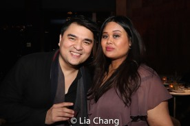 Jose Antonio Vargas and Nicole Ponseca. Photo by Lia Chang