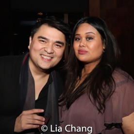 Jose Antonio Vargas and Nicole Ponseca. Photo by Lia Chang
