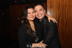 Liz Casasola and Jose Llana. Photo by Lia Chang