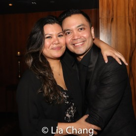 Liz Casasola and Jose Llana. Photo by Lia Chang