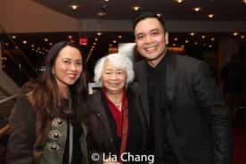 Ernabel Demillo, Flordeliza Demillo and Jose Llana. Photo by Lia Chang