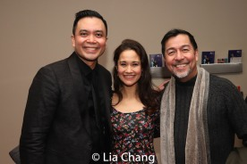 Jose Llana, Ali Ewoldt and Alan Ariano. Photo by Lia Chang