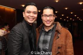 Jose Llana and Darren Lee. Photo by Lia Chang