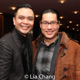 Jose Llana and Darren Lee. Photo by Lia Chang