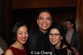 Lia Chang, Jose Llana, Ruthie Ann Miles. Photo by Garth Kravits