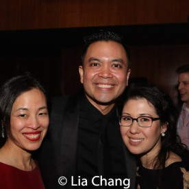 Lia Chang, Jose Llana, Ruthie Ann Miles. Photo by Garth Kravits