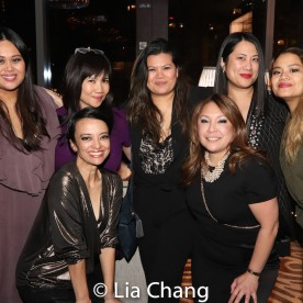 Nicole Ponseca, Emy Coligado, Liz Casasola, Joan Oriel Rodney and Cynthia Casasola. Photo by Lia Chang