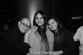 Brian Jose, Nicole Ponseca and Liz Casasola. Photo by Lia Chang