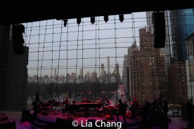 The view from the The Appel Room. Photo by Lia Chang