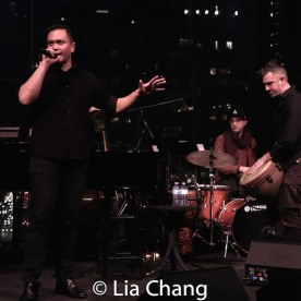 Jose Llana and company. Photo by Lia Chang