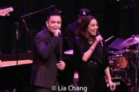 Jose Llana and Jaygee Macapugay. Photo by Lia Chang