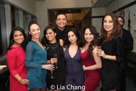 Shea Renne, Belinda Allyn, Renee Albulario, Jose Llana, Geena Quintos, Carol Angeli and Jaygee Macapugay. Photo by Lia Chang