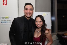 Jose Llana and Carol Angeli. Photo by Lia Chang