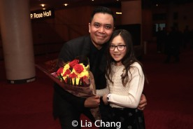 Jose Llana and his niece Veronica. Photo by Lia Chang