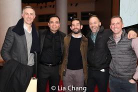 Erik Rose, Jose Llana and guests. Photo by Lia Chang